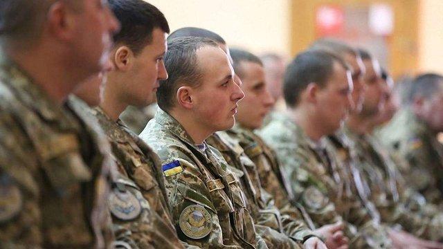 Міністр оборони нагородив 16 львівських десантників за мужність і героїзм