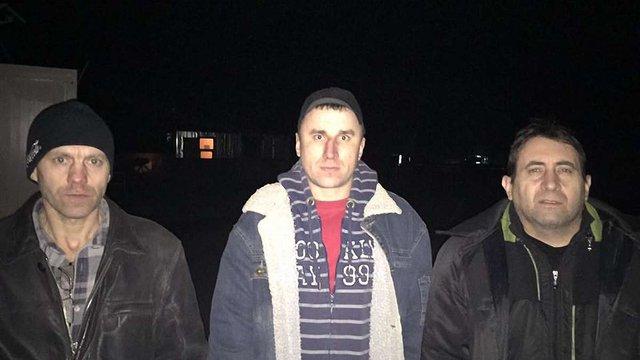 З полону бойовиків звільнили двох українських військових та одного цивільного
