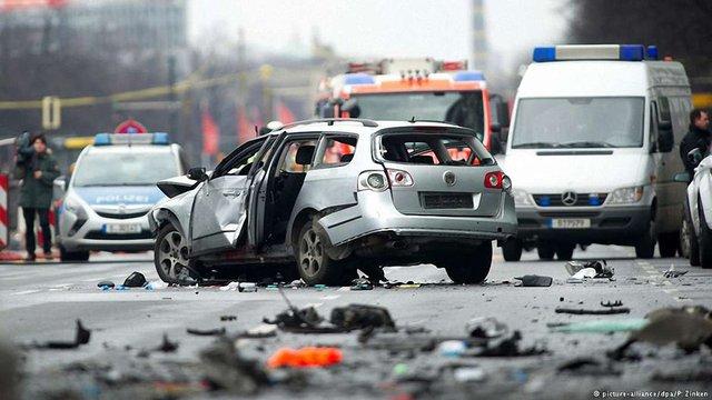 За вибухом автомобіля в Берліні може стояти російська мафія