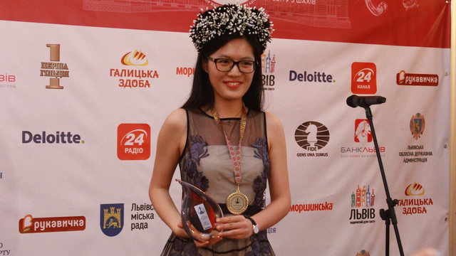 У Львові коронували нову чемпіонку світу з шахів