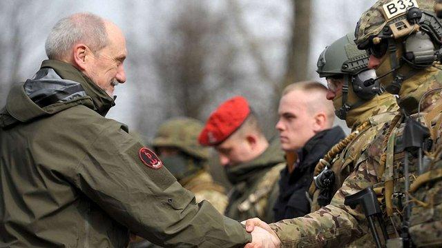 У Польщі сформують три бригади територіальної оборони