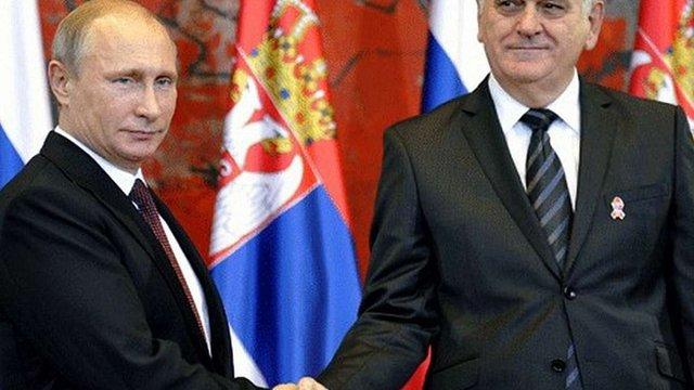 Сербія відмовилася підтримати санкції проти Росії