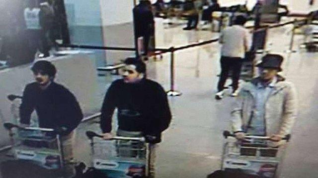 Бельгійські ЗМІ опублікували фото ймовірних терористів