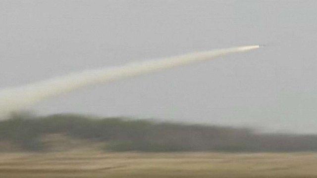 Ракета українського виробництва пройшла успішне вогневе випробування