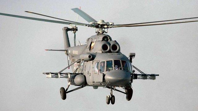 Російський вертоліт порушив повітряний простір України