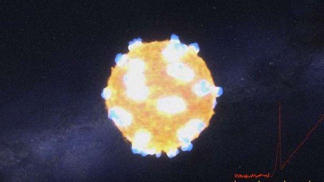 """NASA вперше опублікувало відео """"смерті"""" зірки"""