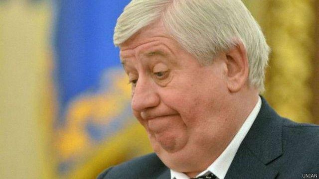 Верховна Рада звільнила Віктора Шокіна з посади генпрокурора