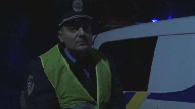 Екс-беркутівець, якого затримали із сумкою боєприпасів, працює в патрульній поліції