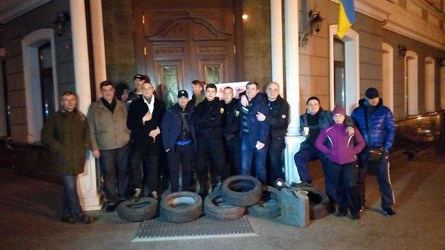 В Одесі протестують проти зміни прокурора