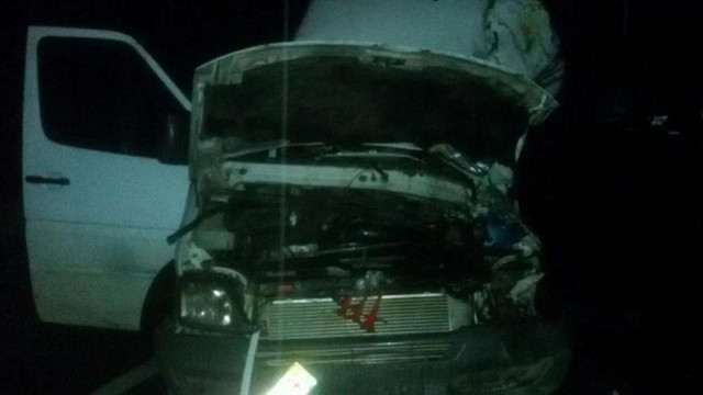 На Закарпатті мікроавтобус з туристами із Трускавця зіштовхнувся з вантажівкою