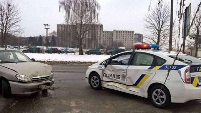 Дев'ять автомобілів патрульної поліції Львова потребують ремонту