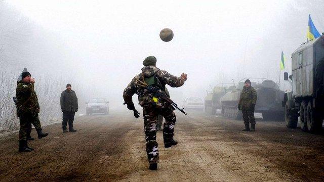 Ветерани АТО створили власну футбольну лігу