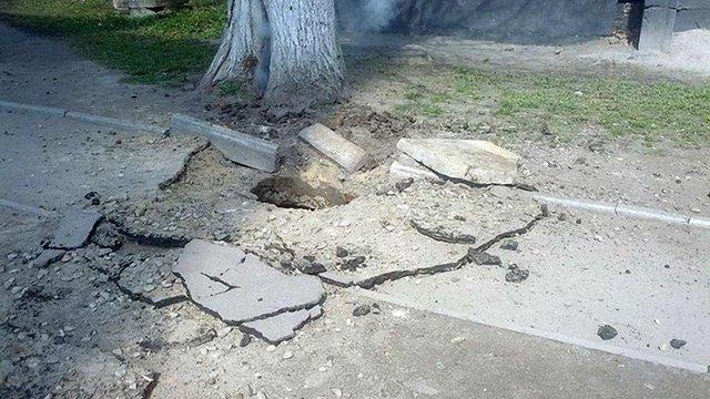 Внаслідок підземного вибуху у Львові в кількох будинках зникло світло