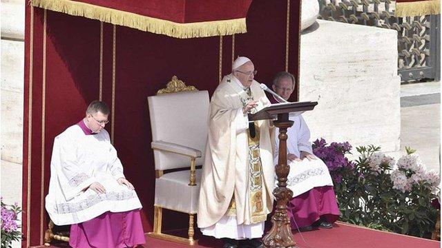 Папа Франциск оголосив загальноєвропейський збір пожертв для гуманітарних потреб України