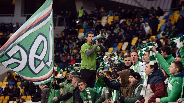 ФФУ закрила на один матч фанатський сектор «Карпат» через прояви расизму