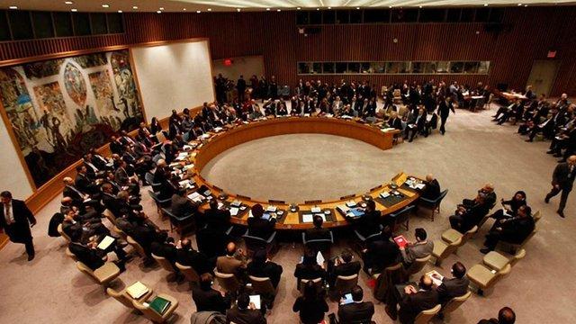 Рада безпеки ООН заблокувала внесену Росією заяву щодо Сирії