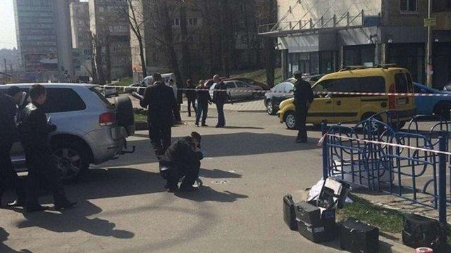 У центрі Києва вдень застрелили підприємця