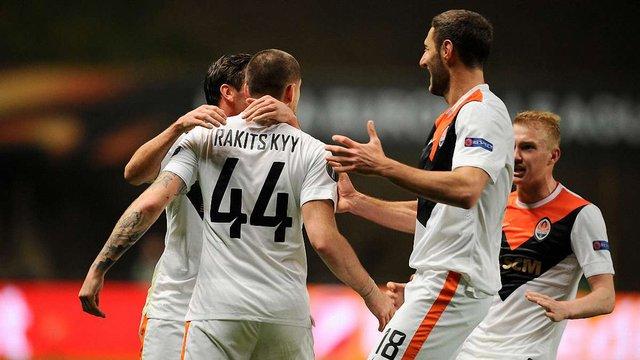 Донецький «Шахтар» здобув перемогу у першому матчі 1/4 фіналу Ліги Європи