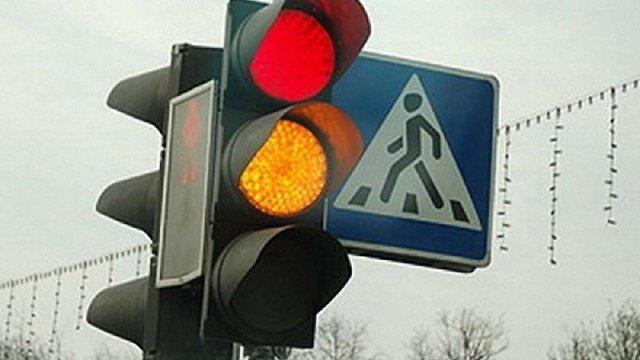 У Львові викрали обладнання зі світлофора