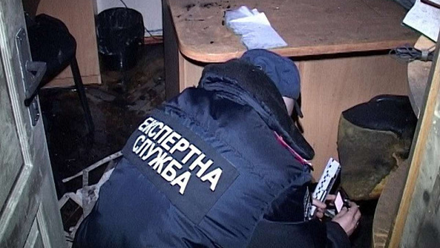 Поліція порушила справу за підпал кабінету судді, який веде справу російських ГРУшників
