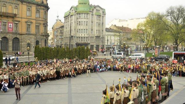 У Львові пластуни відсвяткували 104-ту річницю з дня складання першої присяги