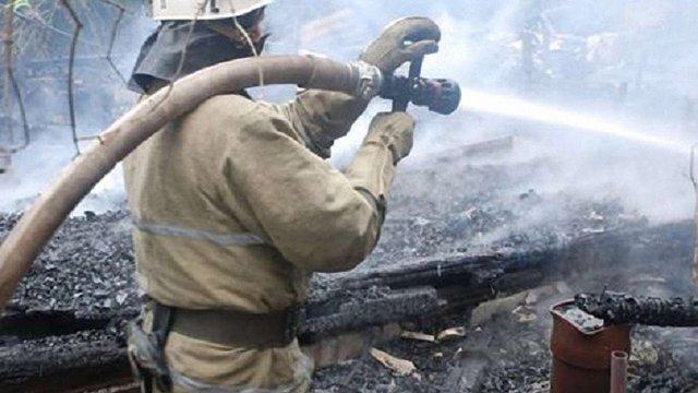 У Львові згоріла ще одна дача