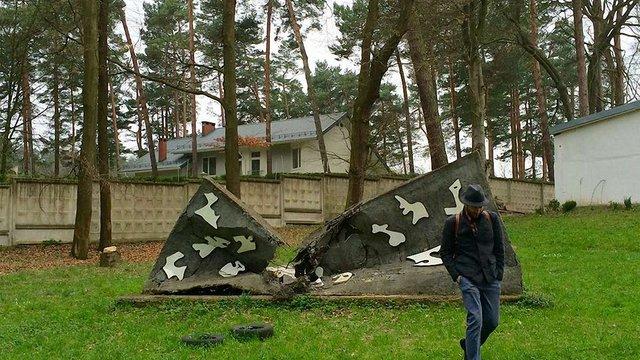 У музеї Михайла Дзиндри дерево пошкодило скульптуру