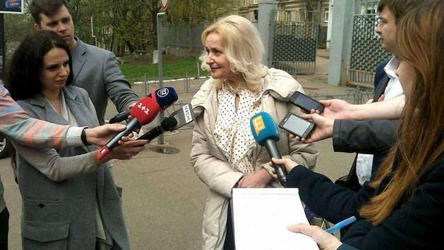 Фаріон заявила, що її допитали у ГПУ як свідка у справі заворушень під Верховною Радою