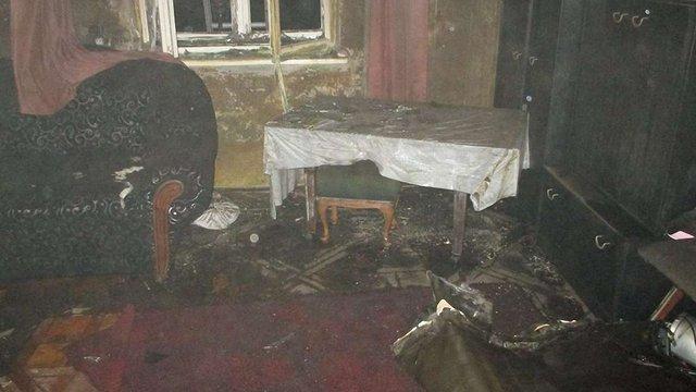 Під час пожежі в орендованій квартирі у Стрию загинув 50-річний чоловік