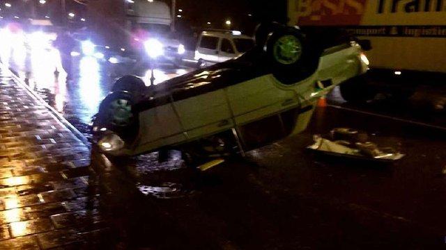 У Львові в подвійну ДТП потрапили два п'яні водії ВАЗів