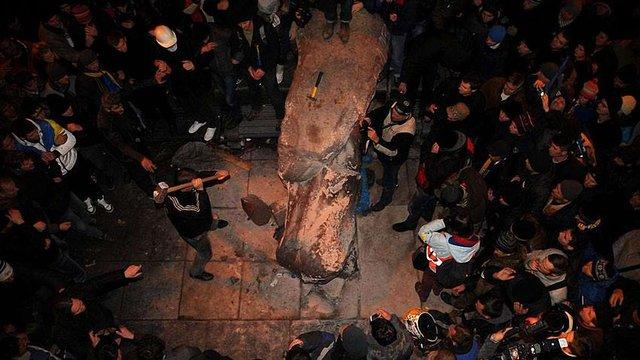 Митцям пропонують знайти заміну пам'ятнику Леніну в Києві