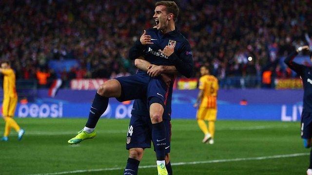 Мадридський «Атлетіко» сенсаційно вибив «Барселону» із Ліги чемпіонів