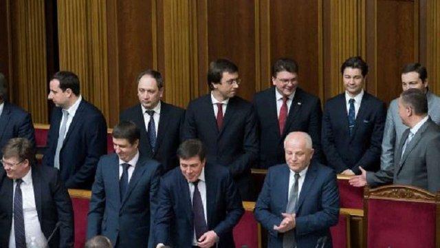 Верховна Рада позбавила мандатів Гройсмана та шістьох його міністрів