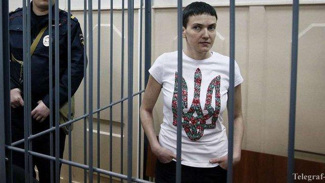 Надія Савченко перебуває у критичному стані