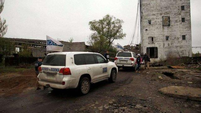 ОБСЄ встановила у Авдіївці та біля Донецька цілодобові камери відеоспостереження