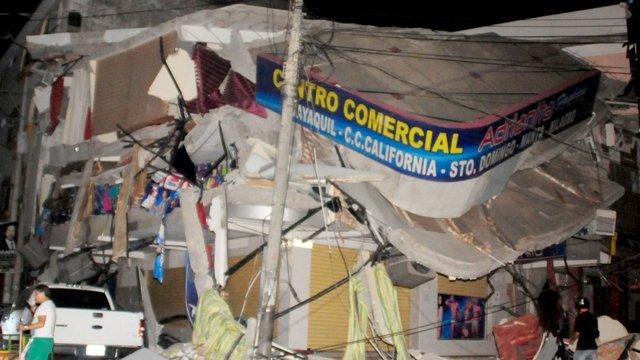 Кількість жертв сильного землетрусу в Еквадорі наближається до вісімдесяти