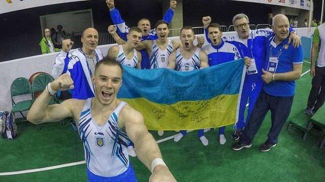 Українські гімнасти вибороли ліцензію на Олімпіаду–2016