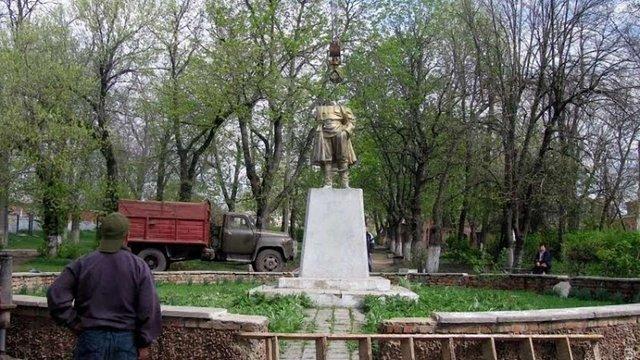 На Одещині знесли пам'ятник Кірову
