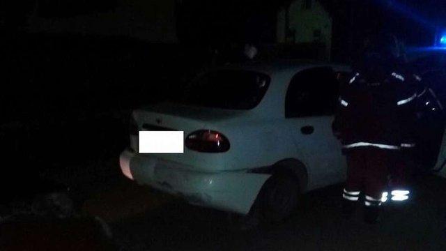 У Винниках п'яний таксист при втечі від поліцейських вчинив ДТП