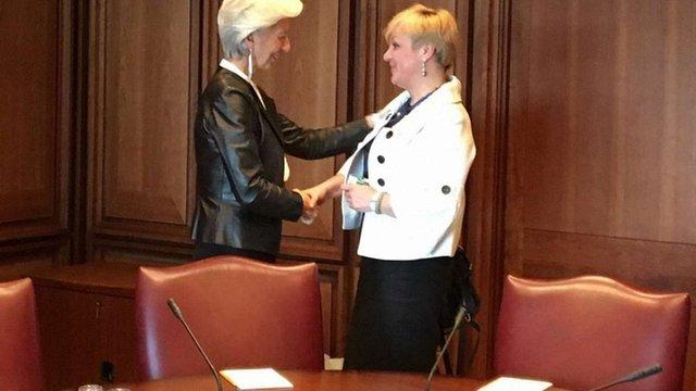 Місія МВФ відвідає Україну найближчим часом, – Лагард