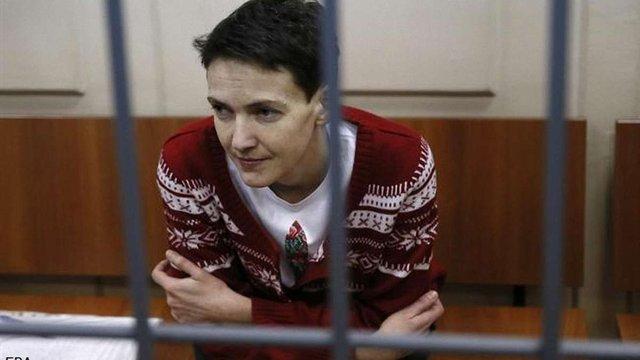 Савченко припинила голодування