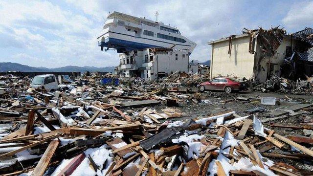 В Японії стався землетрус магнітудою 5,5 балів