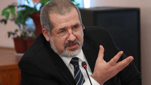 Чубаров розкритикував звіт Ради Європи по Криму