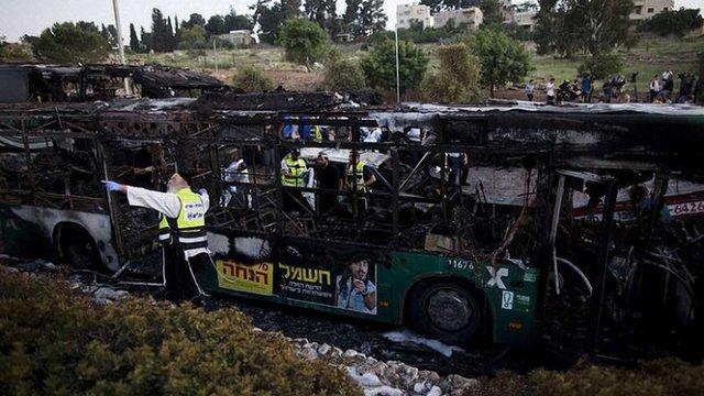 Відповідальність за теракт у автобусі в Єрусалимі взяв на себе ХАМАС