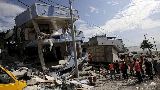 Влада Еквадору вводить податок для багатіїв через землетрус