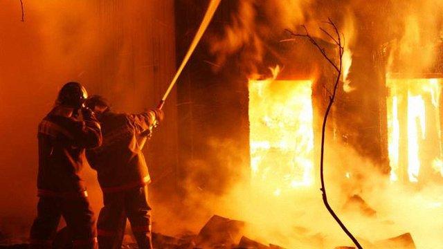 На Одещині внаслідок пожежі згоріли шестеро дітей