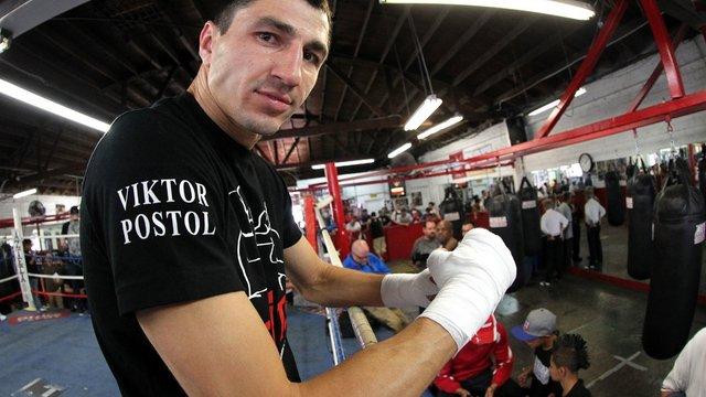 Український чемпіон Віктор Постол проведе об'єднавчий бій з американським боксером