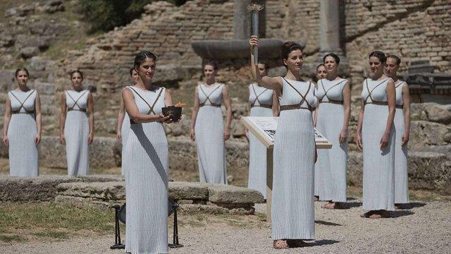 У Греції запалили вогонь літніх Олімпійських ігор-2016