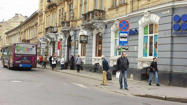 У Львові облаштують першу зупинку громадського транспорту для людей на візках
