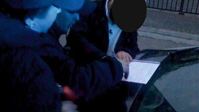 У Львові затримали п'яного водія, якому напередодні повернули права